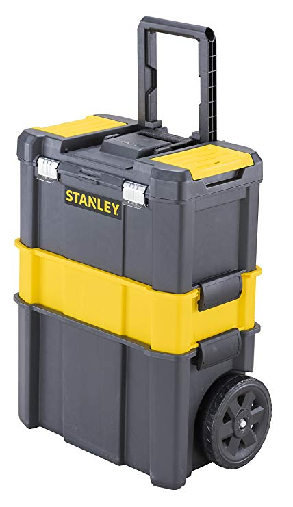 Ящик с колесами Essential Rolling Workshop STANLEY STST1-80151 STST1-80151 stanley modular rolling workshop stst1 70344