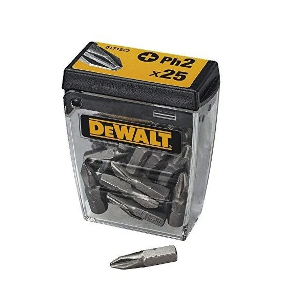 Набор бит DEWALT DT71522, PH2 x 25 мм, шт. DT71522-QZ